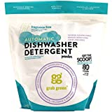 Grab Green Natural Automatic Dishwashing Detergent Powder, Fragrance Free, 80 Loads