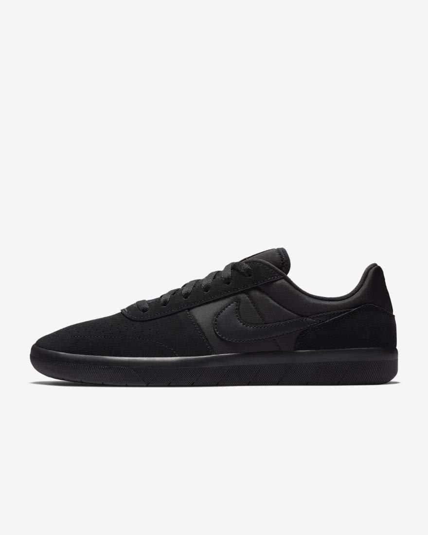 Nike Men's SB Team Classic Black/Black-Anthracite Skate Shoe 12 M US