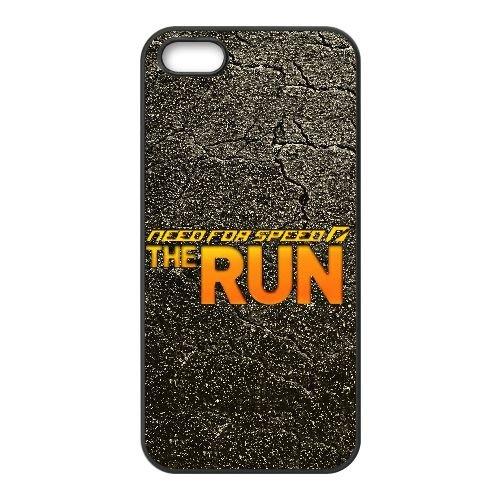 X4C12 nfs le logo de l'exécution N9M9DD coque iPhone 5 5s cellulaire cas de téléphone couvercle coque noire KO9XQM4MB