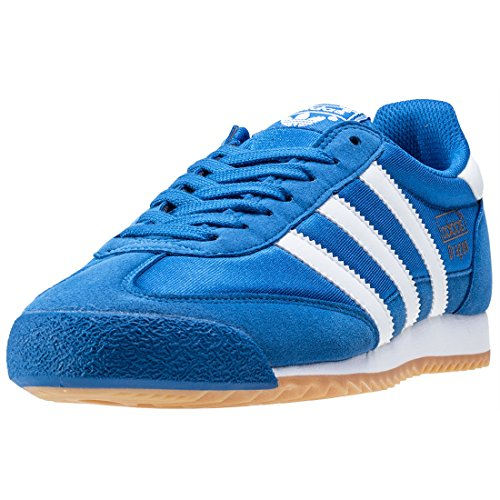 adidas Dragon OG Mens Trainers Blue White - 7 - Original Adidas Uk