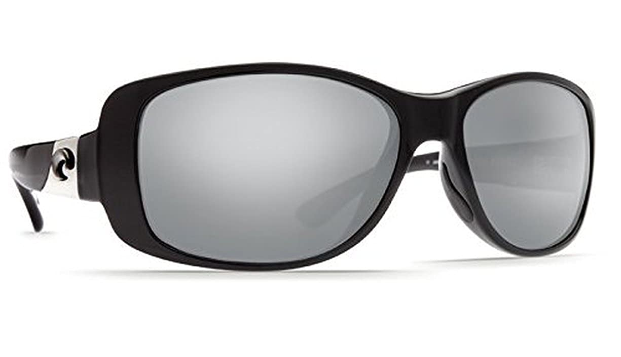 4b90dc37c7325 Amazon.com  Costa Del Mar Sunglasses - Tippet- Glass   Frame  Black Lens   Polarized Blue Mirror 400 Glass  Clothing