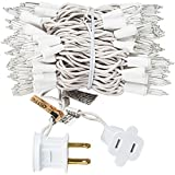 Christmas 100 Clear White Wire Light Set Christmas Decorations