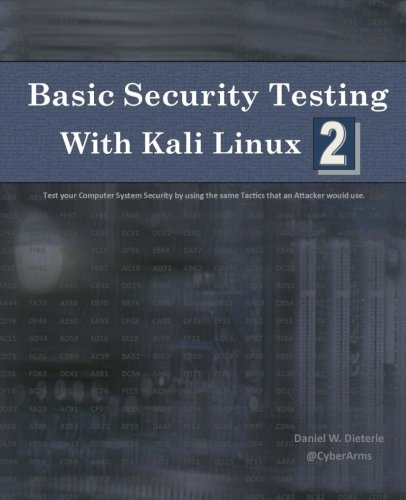 Basic Security Testing with Kali Linux 2 Front Cover