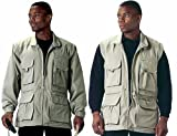 Khaki Convertible Safari Outback Trailblazer Jacket and Vest 7590 Size 2XL