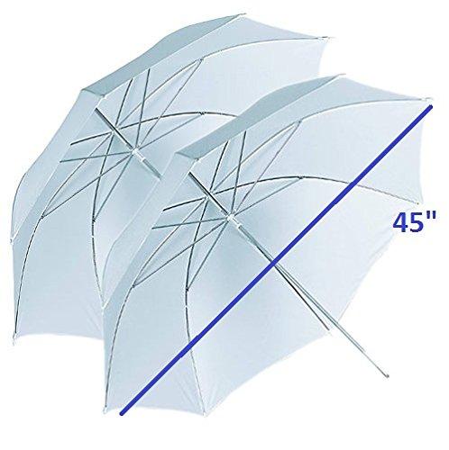 CanadianStudio Photo photography 45' translucent umbrellas 2 pieces 2XUB-004