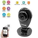 iZtouch IZSP-009A Black 1280x720P HD H.264 Wireless IP Camera with Two-Way Audio IR-Cut Filter Night Vision QR Code Scan Phone remote monitoring supported