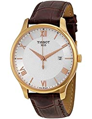 Tissot  Mens Tradition - T0636103603800 Mother-Of-Pearl/Brown One Size