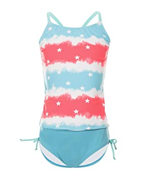 großer Lagerverkauf herausragende Eigenschaften herren iDrawl Kinder Bikini Set Einhorn Badeanzug Mädchen Top+Shorts Sommer  Tankini Strandwear UV Shutz Anzug,6-14 Jahre