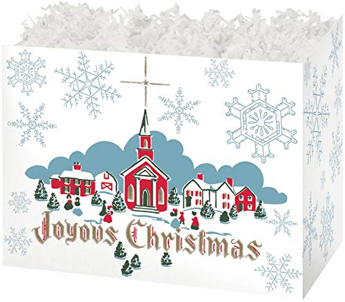 Gift Basket Boxes, Set of 6 - Joyous Country Christmas