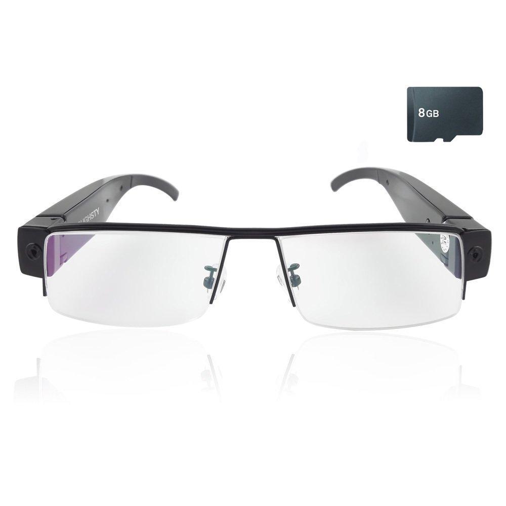Mengshen 1920 × 1080P HD Digital Video lunettes SPY caché caméra Eyewear DVR DV enregistreur vidéo caméra Eyeglass MS-V13