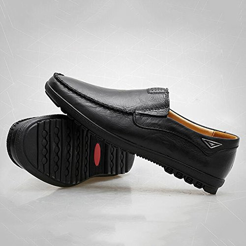 T3 Color 5 UK8 Tamaño Resbalón y Plano EU42 Sandalias CJC Moda chanclas En Conducción Mocasines Hombres Casual T1 wU7q1Sx