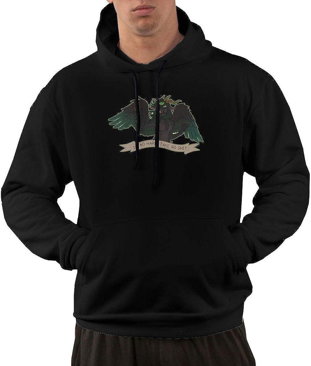 Do No Harm Green Casual Fashion Mens Pocket Hoodie 1