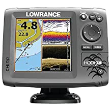 Lowrance Hook-5 Sonar/GPS Mid/High/Downscan Navionics+ Fishfinder