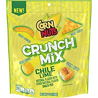 Corn Nuts Crunch Mix Chile Lime Snack Mix, 7 oz. Bag (Pack of 8)
