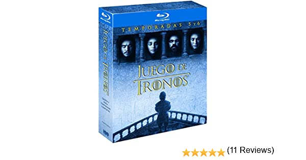 Pack Juego De Tronos Temporada 5-6 Blu Ray [Blu-ray]: Amazon.es ...