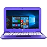 HP 11-r015wm Intel Celeron N3050 X2 1.6GHz 2GB 32GB eMMC 11.6 Win10,Purple(Refurbished)