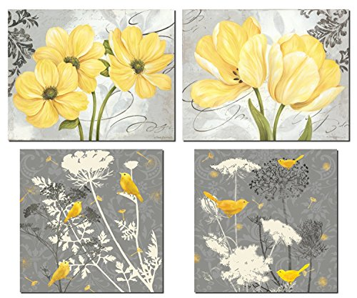 Beautiful Flowers 12x12in 14x11in Unframed product image