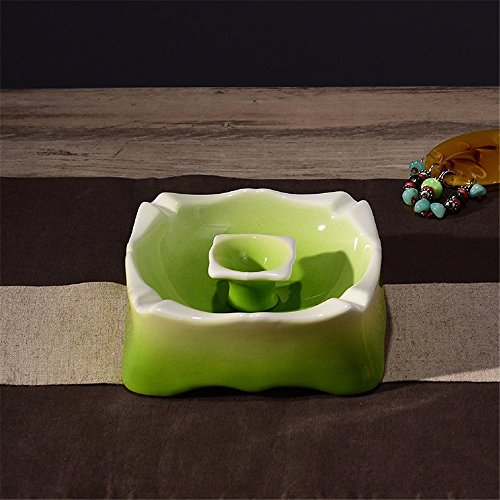 Ashtray Ceramic Creative Personality Living Room Home Bedroom Office Home Coffee Table Ashtray Decoration Decoration, C
