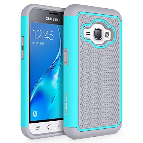 Slim Shockproof Case for Samsung Galaxy J1 (Grey) - 7