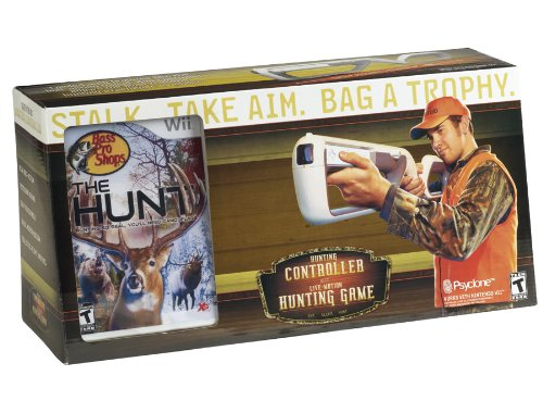 Rock Steady Bass - Bass Pro Shops: The Hunt with Precision Pointer - Nintendo Wii (Bundle)