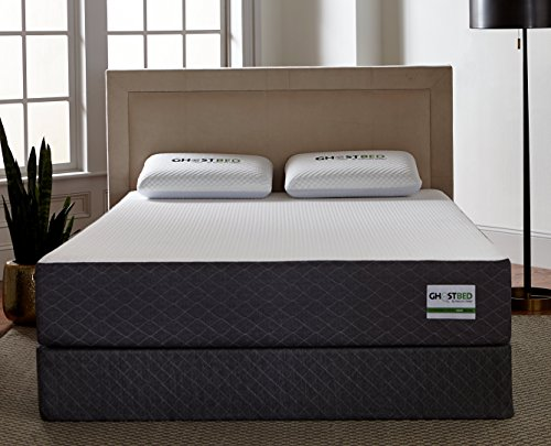 GhostBed Mattress-King 11 Inch-Cooling Gel Memory Foam-Mattress in a Box-Most Advanced Adaptive Gel Memory Foam-Coolest Mattress in America-Made in the USA-Industry Leading 20 Year Warranty