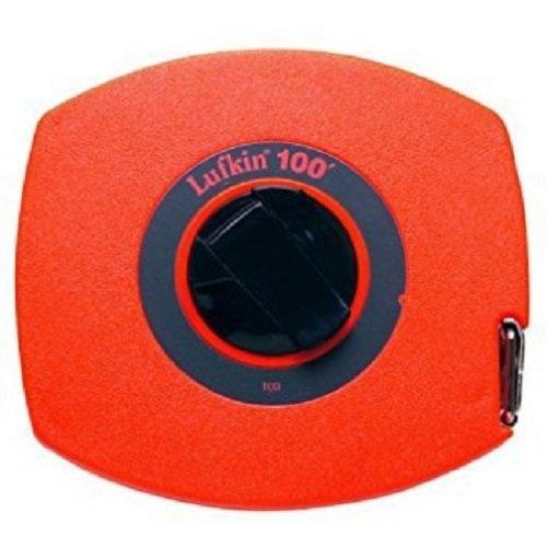 Lufkin 100L 3/8-Inch x 100 Hi-Viz Lightweight Steel Tape
