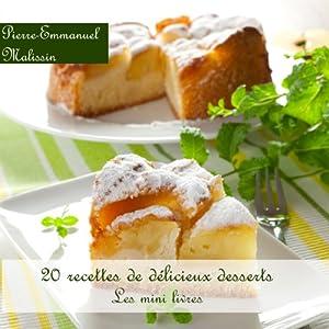 20 Recettes de Délicieux Desserts (Les minis livres t. 7) (French Edition)
