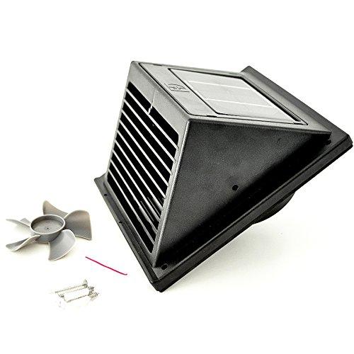 W Hora/® Solar Ventilador A La Pared Montaje Slh//S