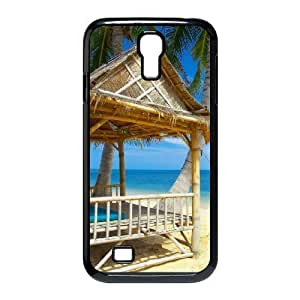 ALICASE Island Beach Diy Case Shell Cover For Samsung Galaxy S4 i9500 [Pattern-1] Kimberly Kurzendoerfer