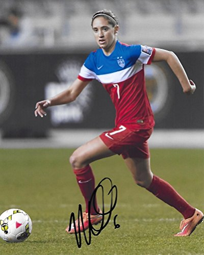 Morgan Brian, USA Womens Soccer, Chicago Red Stars, Signed, Autographed, 8x10 Photo, a COA with the Proof Photo of Morgan Signing Will Be Included. (X Pics Mia)