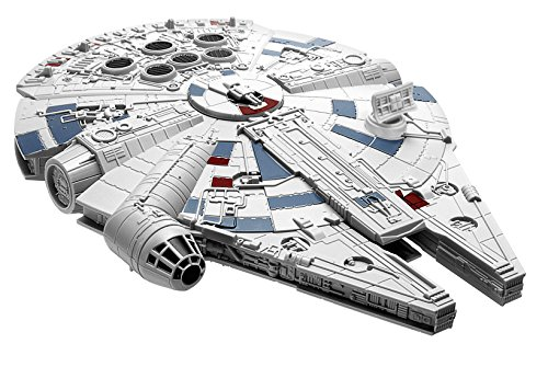 - Revell Snaptite Build and Play Star Wars: The Last Jedi Millennium Falcon