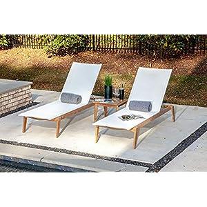 5143tfLwTlL._SS300_ Teak Lounge Chairs & Teak Chaise Lounges