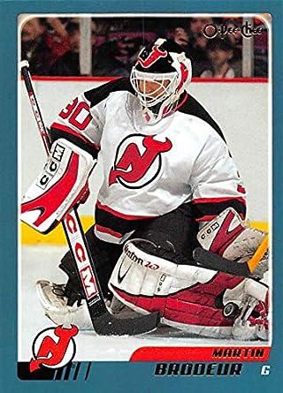 Amazon Com 2003 04 O Pee Chee Hockey Card 158 Martin Brodeur New