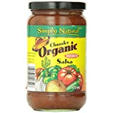 Simply Natural Organic Salsa-Chunky-Medium, 470Ml