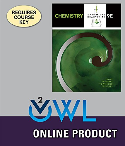 OWLv2 for Kotz/Treichel/Townsend's Chemistry & Chemical Reactivity, 9th Edition
