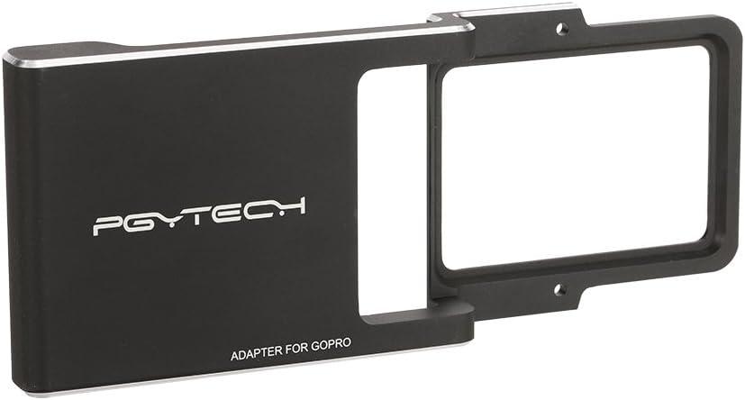 Goolsky PGYTECH Mount Plate Adapter for GoPro Hero 5//4//3//3 Xiaoyi Camera DJI Osmo Zhiyun Mobile Gimbal