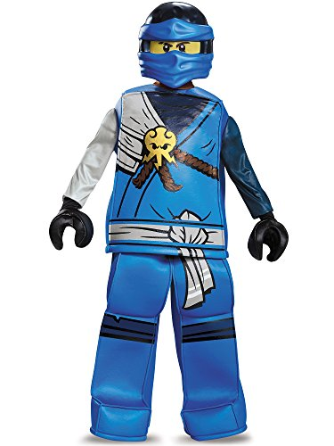 Jay Prestige Ninjago Lego Costume, Small/4-6 for $<!--$26.99-->