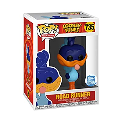 Funko POP! Animation: Looney Tunes Road Runner #735 Exclusive [Sold Out]: Toys & Games
