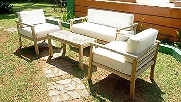 talfa teca Muebles Asiento Grupo - maluku: Amazon.es: Jardín