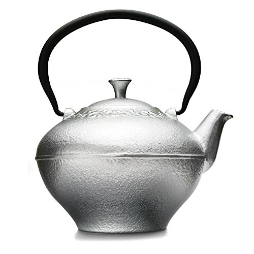 Primula Fleur Cast Iron Teapot with Stainless Steel Infuser,
