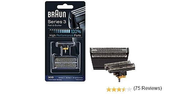 Braun - Láminas 30B - Láminas de recambio para afeitadoras Series ...