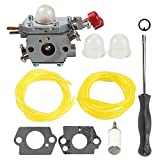 zama carburetor c1u - Butom C1U-P27 753-06288 Carburetor with Fuel Filter Line for MTD Troybilt MS2550 MS2560 MS9900 RM430 TB2040XP TB2044XP TB2MB TB430 Craftsman 316791020 316795860 Trimmer