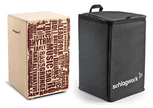 Schlagwerk CP130 PACK X-One Series Styles Cajon with BackPack Bag [並行輸入品]   B07MB45PC9