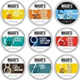 Maud's 9 Flavor Original Coffee Variety Pack (Original 9 Blends), 80ct. Solar Energy Produced Recyclable Single Serve Coffee