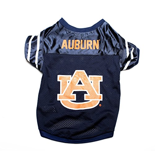 Pet Goods NCAA Auburn Tigers Collegiate Pet Jersey, Medium Collegiate Girth