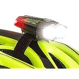 AWE® AWEDual 360°™ USB Wiederaufladbare Fahrrad Twin Helm Licht vorne / hinten 80 Lumen