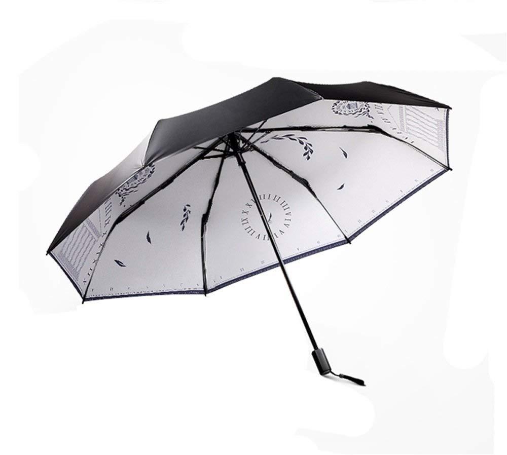 Sun Umbrella Men's Folding Umbrella UV Predection Ladies Umbrella Windproof Umbrella 2 People Umbrella Manual On off