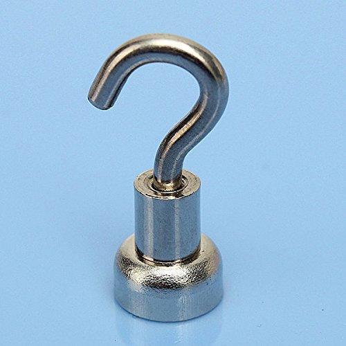 EGlobalMarket D10MM Strong Rare Earth Hook Pot Magnet