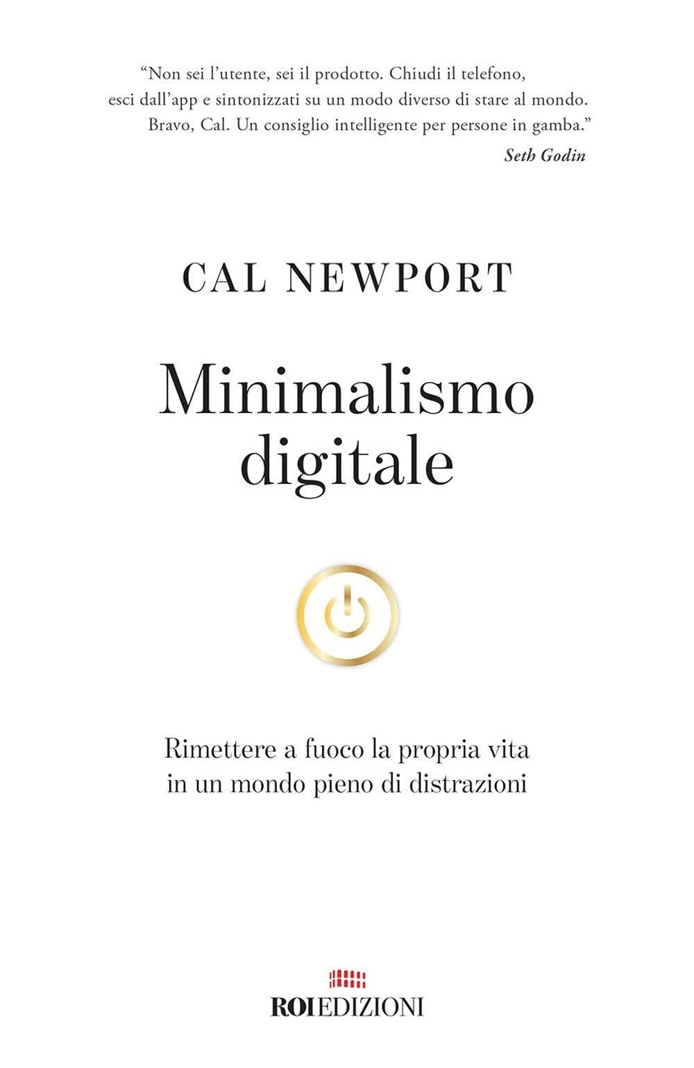 Copertina Libro Minimalismo digitale