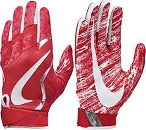 Nike Youth Vapor Jet Football Glove Red Large (Football Nike Gloves Vapor)